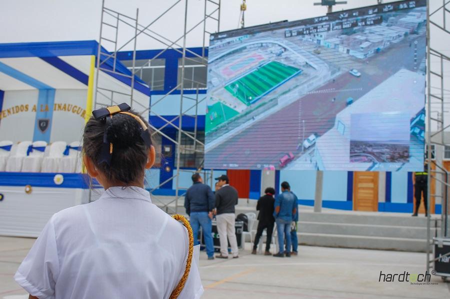 Hardtech se hace presente en inauguración de remodelado colegio Julio Gutiérrez Solari de El Milagro