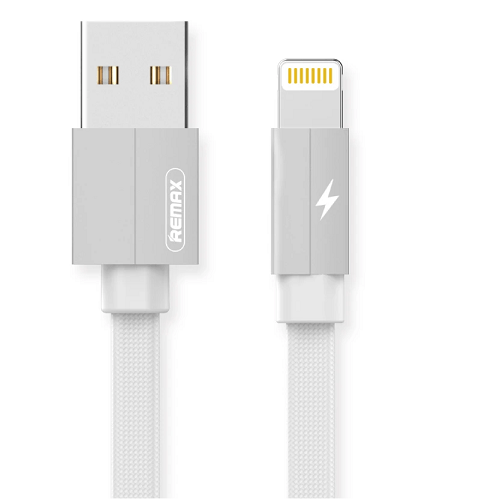 CABLE USB LIGHTNING REMAX RC-094I,2.4A, BLANCO