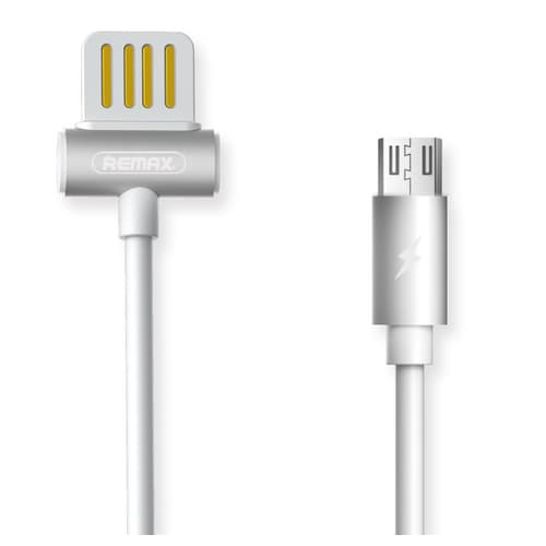 CABLE USB MICRO USB REMAX RC-082M, 2.1A, BLANCO