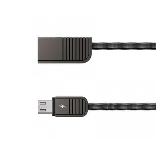 CABLE USB MICRO USB REMAX RC088M, 2.1A, NEGRO