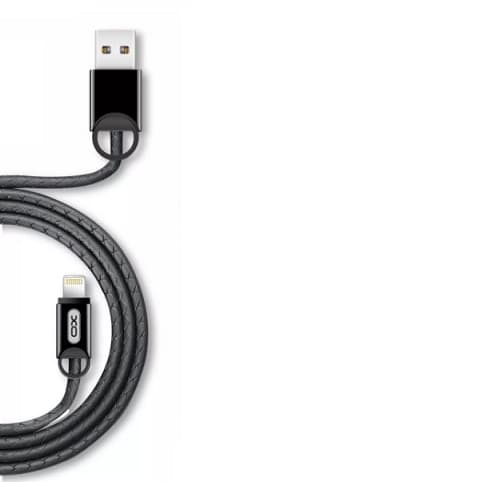 CABLE USB TIPO LIGHTNING OX NB42, NEGRO