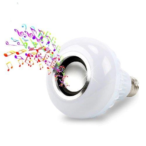 FOCO LED RGB PARLANTE CON BLUETOOTH