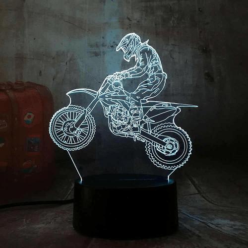 LAMPARA MOTO MOD12, RGB, USB