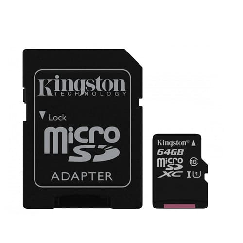 MEMORIA KINGSTON MICRO-SD CANVAS SELECT 64GB,CLASE 1(U1)