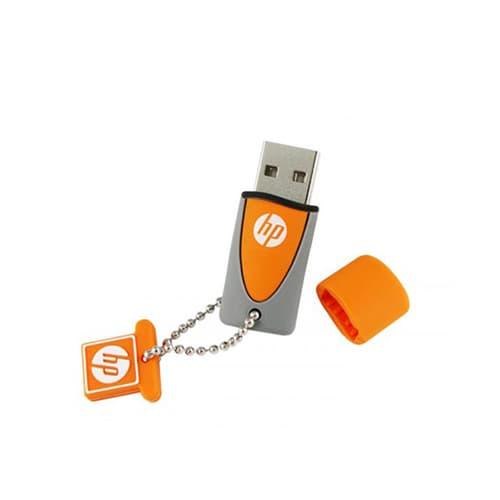 MEMORIA USB HP V245O,32GB, NARANJA/GRIS