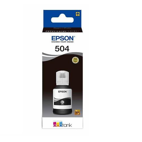 TINTA EPSON T504,NEGRO