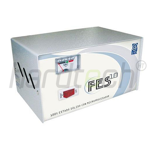 ESTABILIZADOR ELISE FES-10 1 KVA SOLIDO CON MICROPROCESADOR